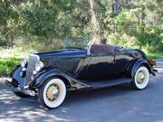1934 FORD Ford Other Deluxe Roadster
